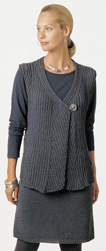 Free Knitted Vest Patterns Womens : Berroco  Free Pattern Sheila
