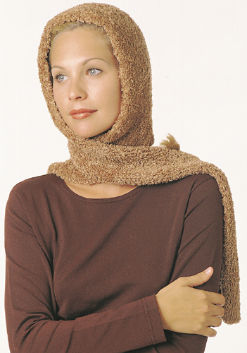 Knitted Head Scarf Pattern : Berroco  Free Pattern Head Scarf