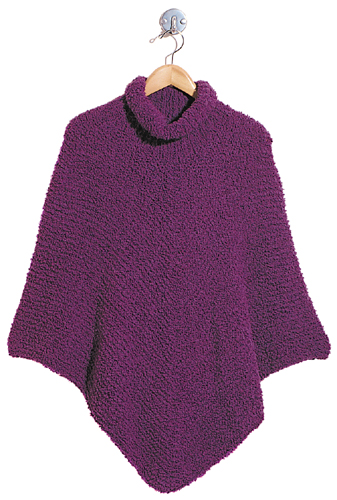 free easy knitting pattern for a poncho - Music Search Engine at Search.com