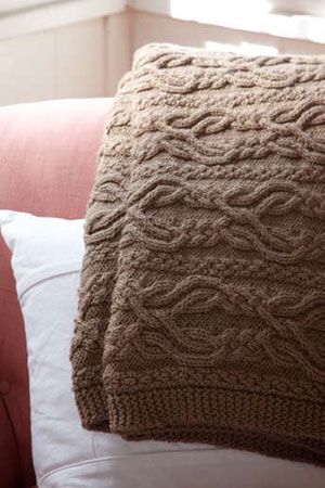 Comfort® Knitting and Crochet Afghans | Aran