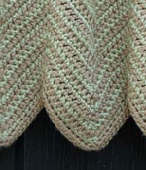 Double Crochet Chevron Stitch