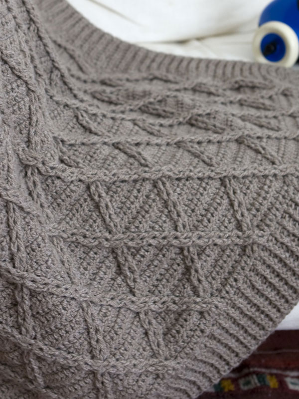Comfort Knitting Crochet Babies Toddlers Aran Blanket