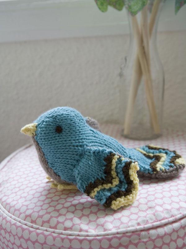 Knitted Bird Pattern : Comfort  Knitting & Crochet: Babies & Toddlers Bertie Bird