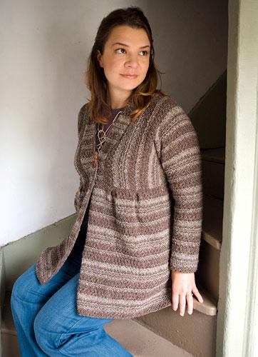 Free Knitting Pattern Ruffle Cardigan : Berroco  Free Pattern Celsian