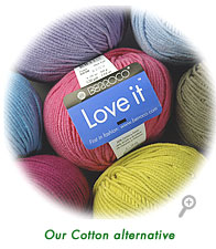 Love it&reg;, our cotton alternative