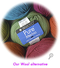 Pure Merino&trade;, our wool alternative