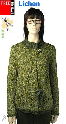Lichen, free pattern