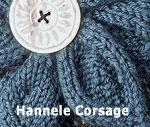Hannele Corsage detail