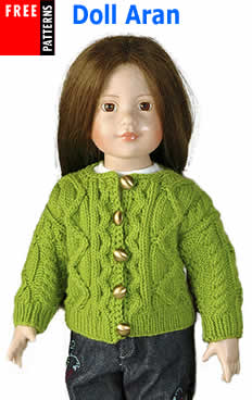 Free Pattern - Doll Aran