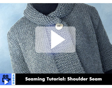 Video - Seaming Tutorial: Shoulder Seam