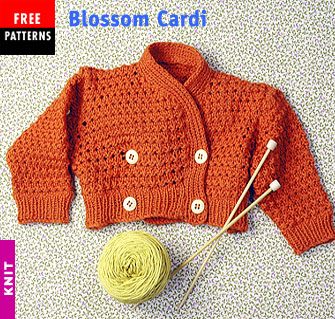 Free Pattern - Blossom Cardi