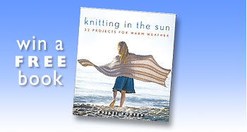 "Win A FREE Book ""Knitting in the Sun"""