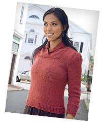 Auburn Top from New England Knits