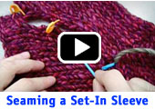 Seaming a Set-in Sleeve