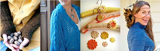 Published patterns using Berroco yarns