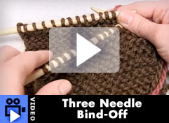 How-To Video: 3 needle BO