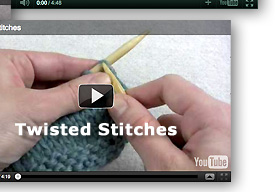Video - Twisted Stitches