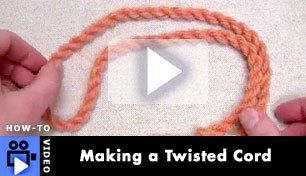Making a Twisted Cord - How to Video