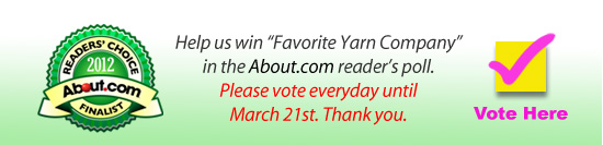 "Help us win ""Favorite Yarn Company"" poll"