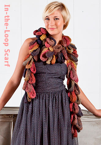 In-the-Loop Scarf - Free Pattern