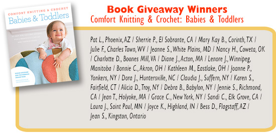Winners - Babies & Toddlers Book