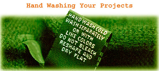 Hand Washing Your Projects