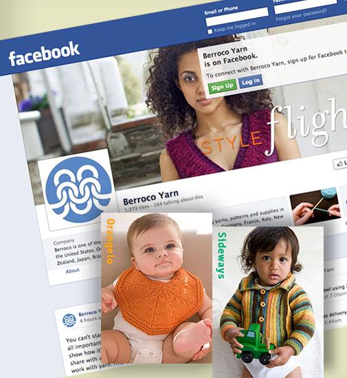 Facebook nad 2 free patterns: Orangelo & Sideways