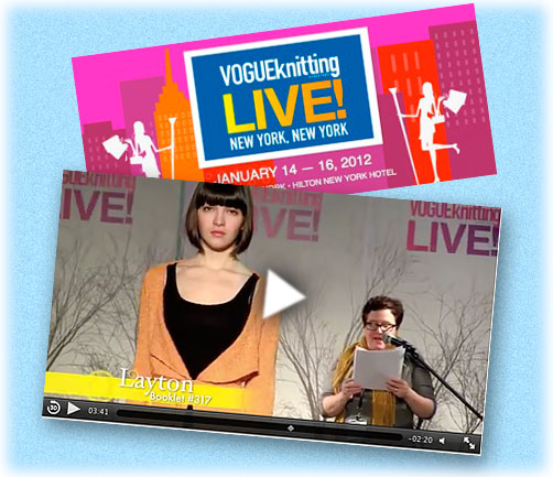 Vogue Knitting Live, New York